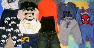 Baby boy clothing a lot. Name brands